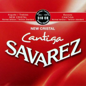 Cuerdas-Clásica-Savarez-510CR New Cristal Cantiga Normal Tension