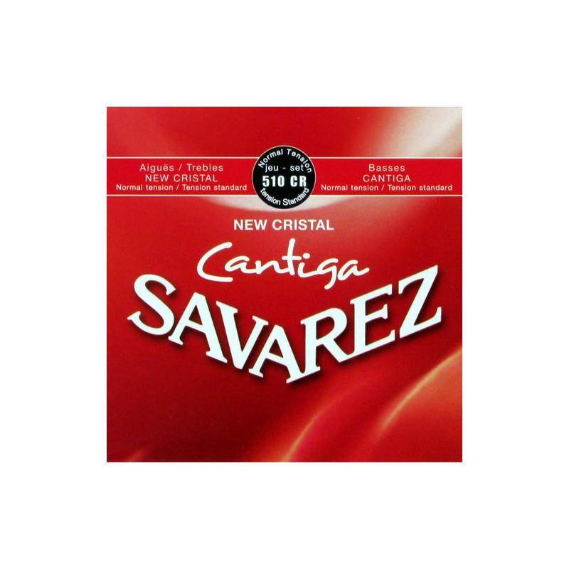 Cuerdas-Clásica-Savarez-510CR New Cristal Cantiga Normal Tension
