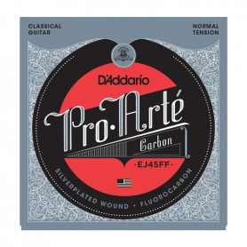 Cuerdas Clásica D´Addario EJ45FF Carbon ProArte Normal Tension