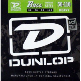 Cuerdas Bajo Dunlop Nickel Plated 50-110