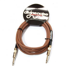 Cable-de-Instrumento-Divine Noise Color 10-ST-ST Brown 3m.