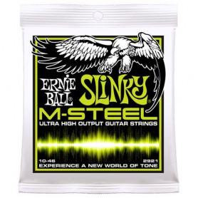 Cordes Elèctrica Ernie Ball M-Steel 2921 Slinky 10-46