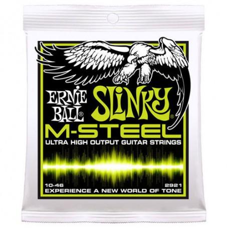 Cuerdas-Eléctrica-Ernie-Ball 2921 M-Steel Regular Slinky 10-46