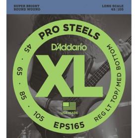 Cuerdas-Bajo-D´Addario-EPS165 Pro Steels 45-105