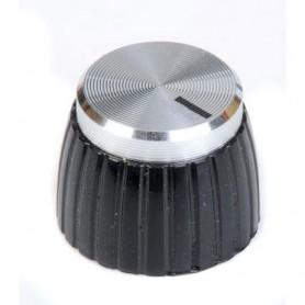 Botó de Potenciòmetre tipus Marshall Plata