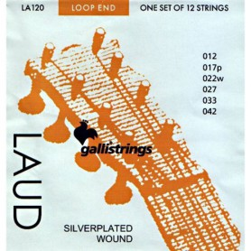Cuerdas de Laud Galli LA120 12 Strings Set