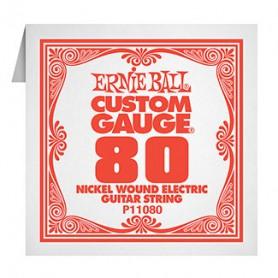 Cuerda Suelta Eléctrica Ernie Ball P11080 Entorchada 080
