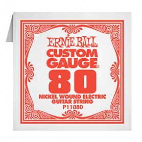 Ernie Ball Nickel Wound P11080 Single String 080