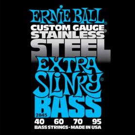 Cuerdas Bajo Ernie Ball 2845 Stainless Steel Extra Slinky 40-95