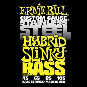 Ernie Ball 2843 Hybrid Slinky Stainless Steel 45-105