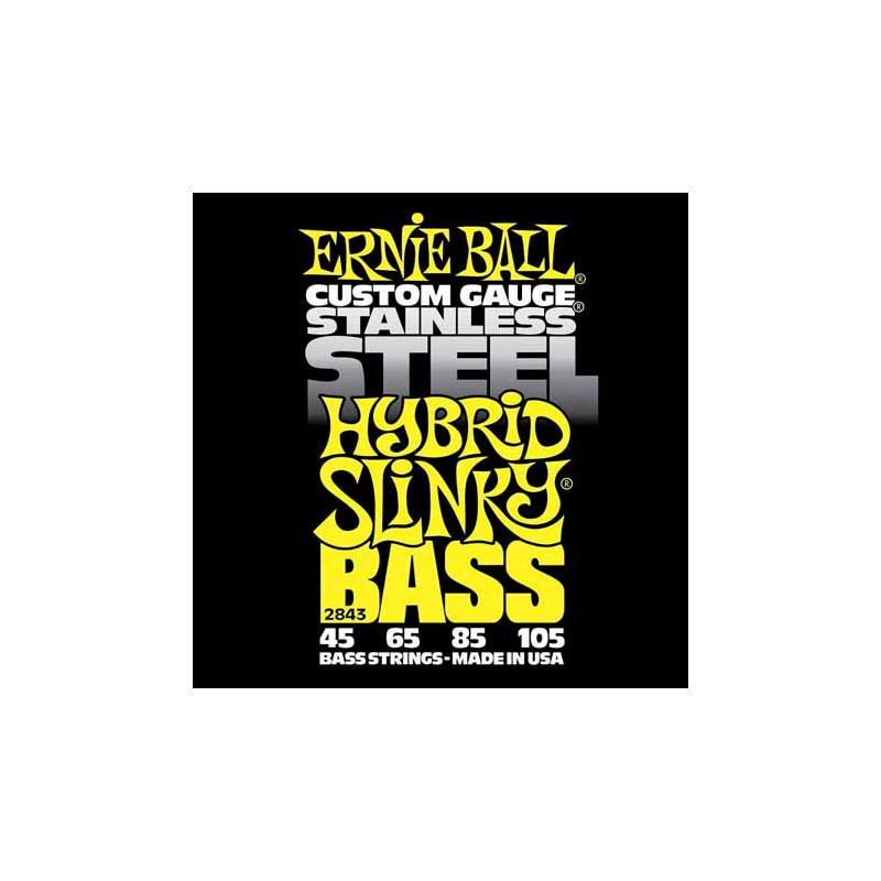 cuerdas-bajo-ernie-ball-2843-stainless-steel-hybrid-slinky-45-105