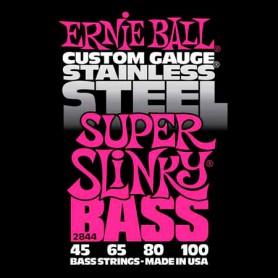Cordes Baix Ernie Ball 2844 Stainless Steel Super Slinky 45-100