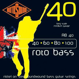 Rotosound Roto Bass Strings 40-100