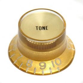 Botón-de-potenciómetro-tono tipo SG Gold