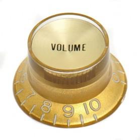 Botón de potenciómetro de Volumen tipo SG Gold