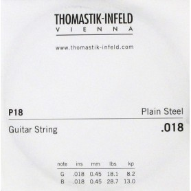 Thomastik Infeld Plain Brass Plated Single String 018