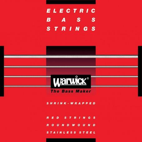 Cuerdas de Bajo Warwick Red Label 40-100 Stainless Steel