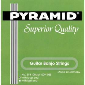 Cuerdas Guitar Banjo Pyramid 6-Strings