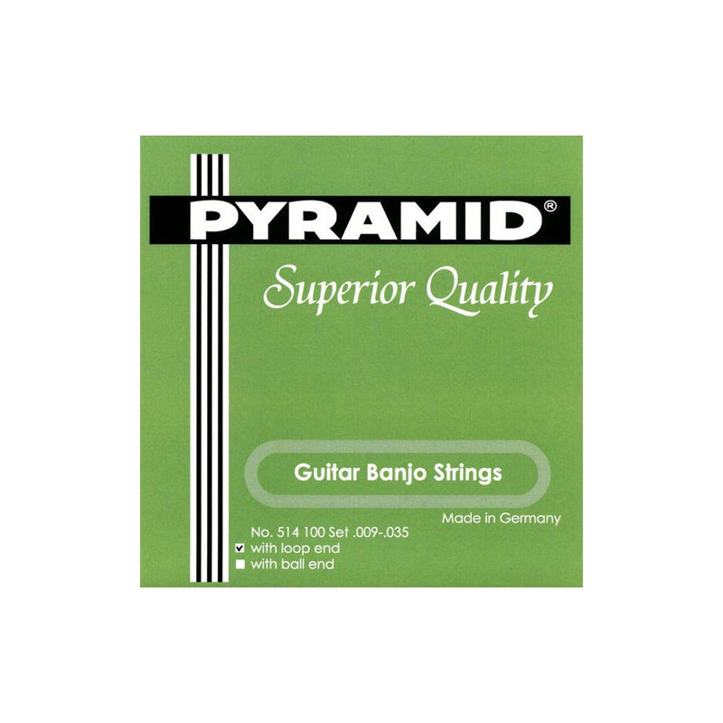 Cuerdas Pyramid-Guitar-Banjo-Strings