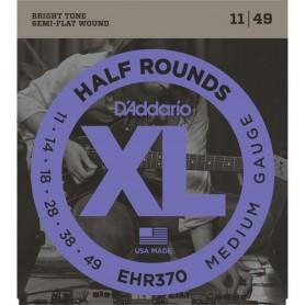 Cuerdas Eléctrica D´Addario EHR370 Half Rounds 11-49 Medium