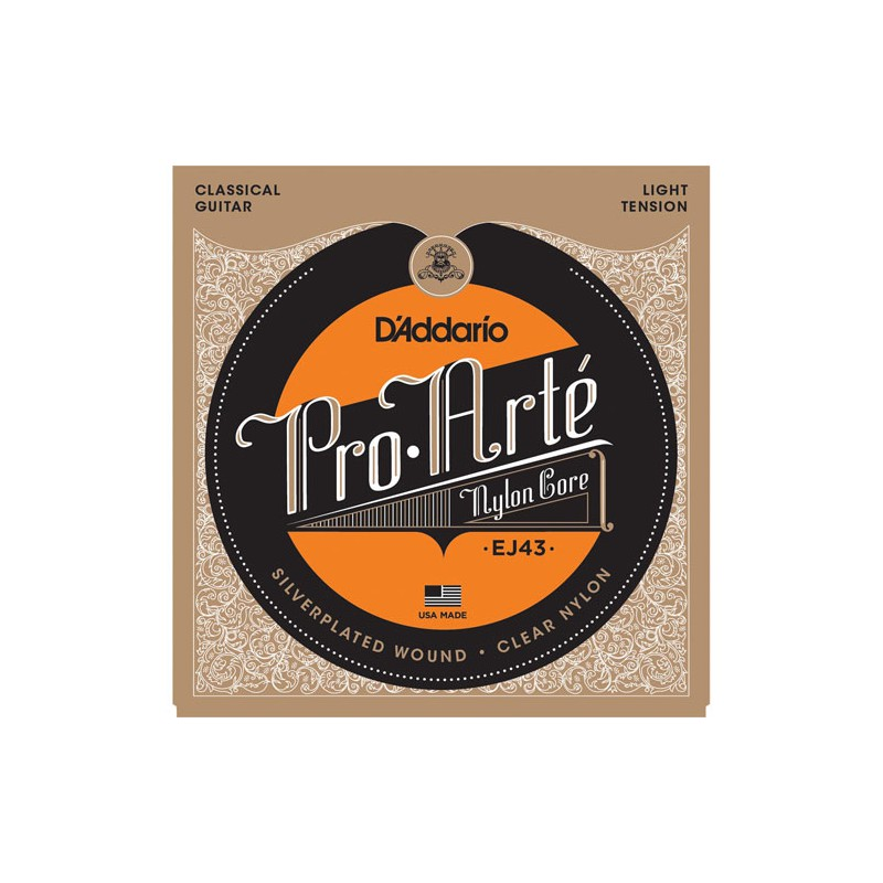 Cuerdas-Clásica-D´Addario-EJ43 ProArte Light Tension