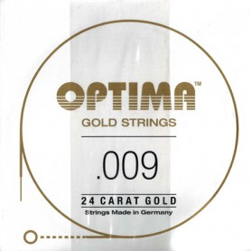 Optima Gold Strings 009 Plain Single