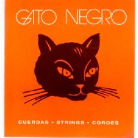 Cordes Clàssica Gato Negro Nylon Blanc