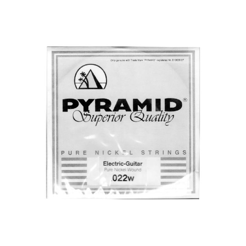 Cuerda-Suelta-Pyramid-Pure-Nickel Round Core 022w