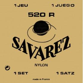 Cuerdas Clásica Savarez 520 R Carta Roja