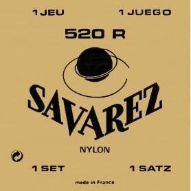 Savarez 520R Red Card Classical Guitar Strings