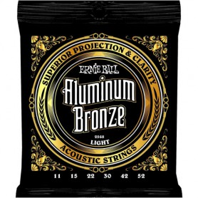 Cuerdas-Acústica-Ernie-Ball Aluminum Bronze 2568 11-52 Light
