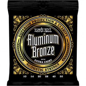 Ernie Ball 2570 Aluminum Bronze 10-50 Extra Light