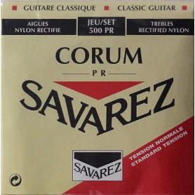 Cuerdas Clásica Savarez 500 PR New Cristal Corum