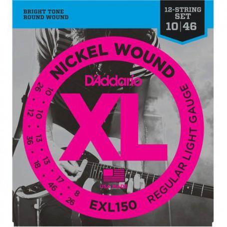 Cuerdas Eléctrica D´Addario EXL150 12 Strings-46_