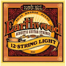 Cuerdas Acústica Ernie Ball 2010 Earthwood 12 String Light