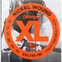 Cuerdas-Eléctrica-D´Addario EXL140-3D 10-52 3 Sets