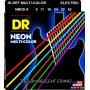 Cuerdas-Eléctrica-DR-Strings Neon Multicolor