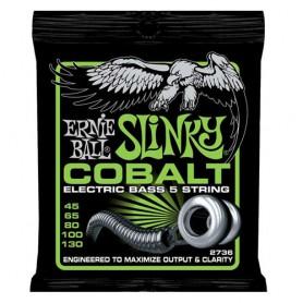Cuerdas Bajo Ernie Ball 2736 Cobalt Slinky 45-130