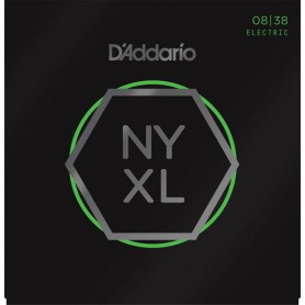 Cuerdas Eléctrica D'Addario NYXL 08-38 Extra Super Light