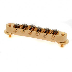 Kluson Tune-O-Matic Roller Bridge Gold