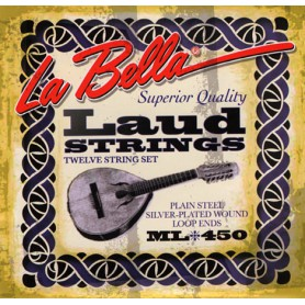La Bella Laud ML450 Strings Set