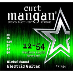 Cordes Elèctrica Curt Mangan Nickel Wound 12-54 Medium Light