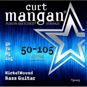 Cordes Baix Curt Mangan Nickel Wound 45-105 Fusion Matched