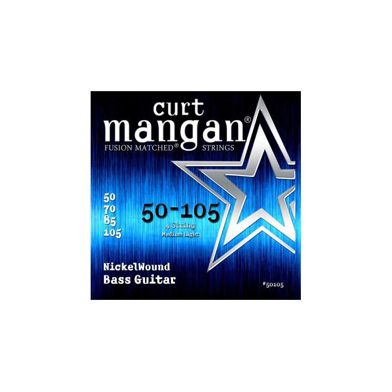 Cuerdas-Bajo-Curt-Mangan-Nickel Wound 50-105