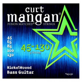 Curt Mangan 45-130 Nickel Wound Bass Strings