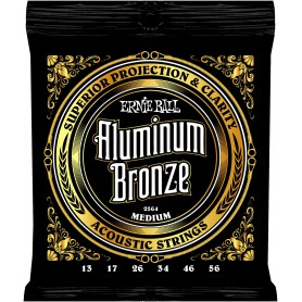 Cuerdas-Acústica-Ernie-Ball 2566 Aluminum Bronze 12-54 Medium Light