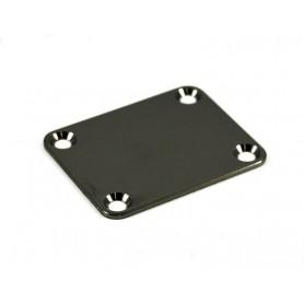 Placa de sujeción de mástil-Neck Plate Black