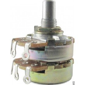 Alpha 250K Dual Audio Potentiometer