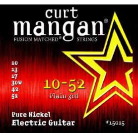 Cuerdas Eléctrica Curt Mangan 11-48 Pure Nickel Wound Fusion Matched