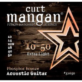 Curt Mangan Phosphor Bronze 10-50 Acoustic Strings